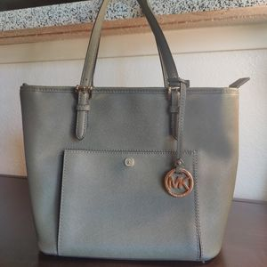 Michael Kors Green Tote Bag